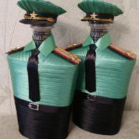 Две бутылки коньяка в подарок на день рождения
