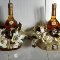 Подарочные букеты с алкоголем для мужчины