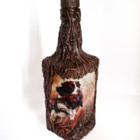 Бутылка в подарок для охотника