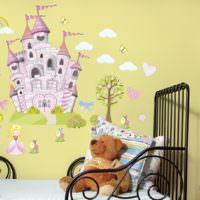 Сказочные мотивы в оформлении детской комнаты