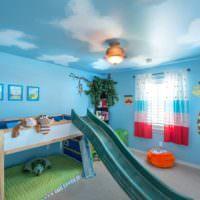 Игровая зона в интерьере детской комнаты