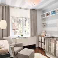 Пастельные тона в оформлении комнаты для ребенка