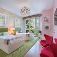 Жилая комната для разнополых детей