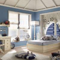 Стиль прованс в дизайне детской комнаты
