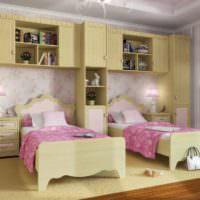 Оформление спальни для двух детей