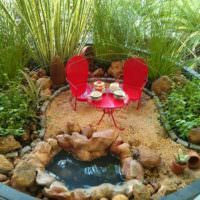 Уголок для отдыха в саду своими руками