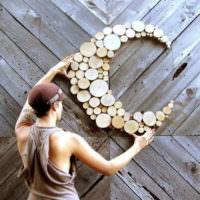 Деревянное панно своими руками для украшения жилой комнаты
