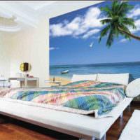 Морская тематика для панно в спальне