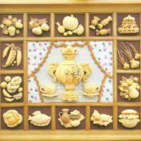 Декоративное панно для столовой или кухни своими руками