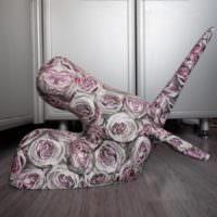 Интерьерная скульптура в технике папье-маше