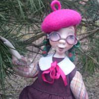 Кукла из папье-маше своими руками