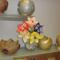 Интерьерные декорации из папье-маше своими руками