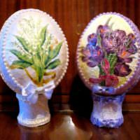 Красивые поделки из папье-маше для декорирования интерьера