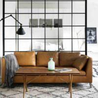 идея применения перегородки в дизайне дома фото