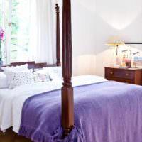 пример красивого проекта дизайна спальни картинка