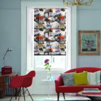 вариант яркого декора дома в стиле поп арт картинка