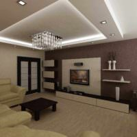 пример яркого стиля спальни 20 метров картинка