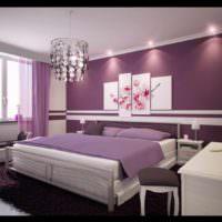 пример необычного стиля спальни фото