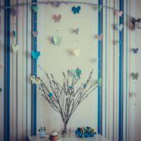 идея красивой поделки для интерьера квартиры фото