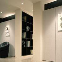 вариант применения перегородки в интерьере комнаты картинка