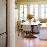 пример применения пробки в интерьере комнаты фото