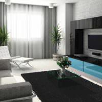 пример красивого дизайна гостиной картинка