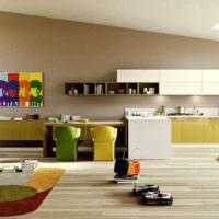вариант красивого декора комнаты в стиле поп арт картинка