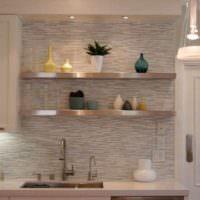 идея красивой поделки для интерьера кухни фото