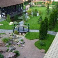 Сад в скандинавском стиле