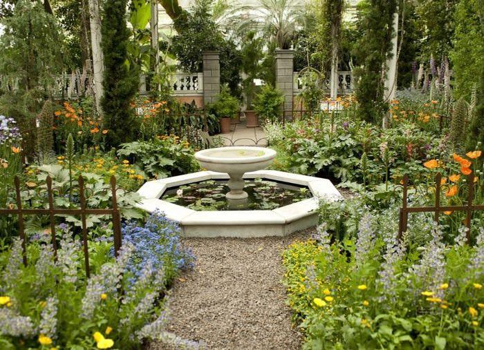 Сад своими руками в мавританском стиле