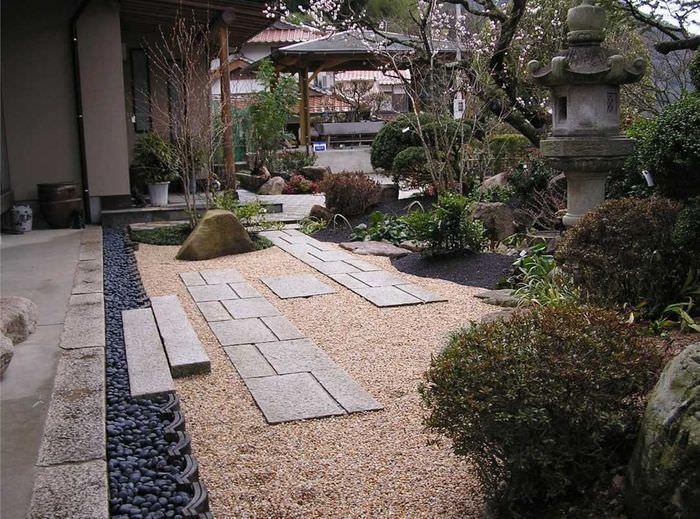 Оформление садового участка в японском стиле своими руками
