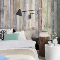 Фотообои для спальни в стиле прованс