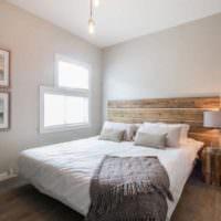 Минималистичекий дизайн спальни 12 кв м