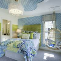Стильное оформление спальни 12 кв метров