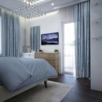 Дизайнерское оформление интерьера спальни 12 квадратов