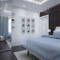 Декоративное панно в спальне 12 кв метров