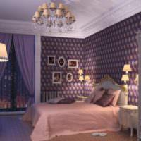 Стиль классицизм в дизайне спальни 12 кв м
