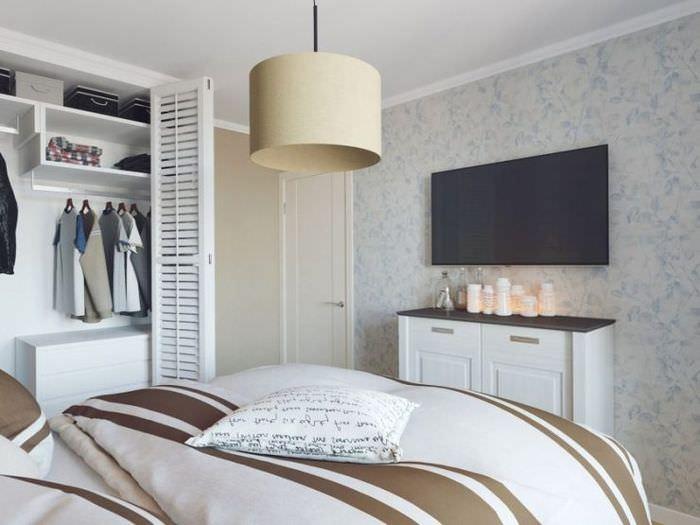 Дизайн маленкой спальни в хрущевке 12 квадратных метров