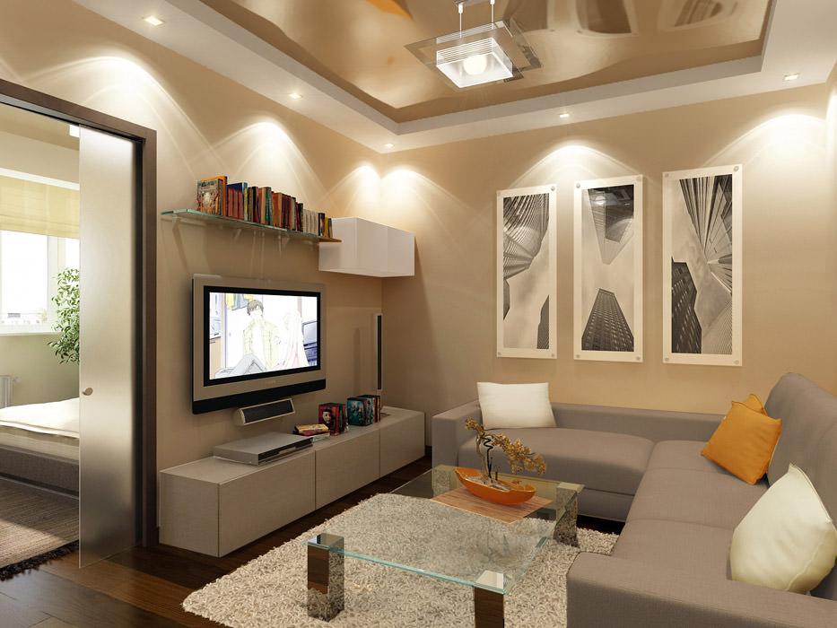 Правильное освещение комнаты с помощью потолочных и настенных светильников