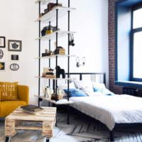 вариант красивого проекта стиля спальной комнаты фото