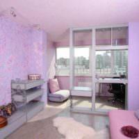пример красивого стиля спальни фото