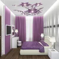 пример красивого стиля спальной комнаты картинка