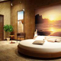 пример применения пробки в дизайне дома фото