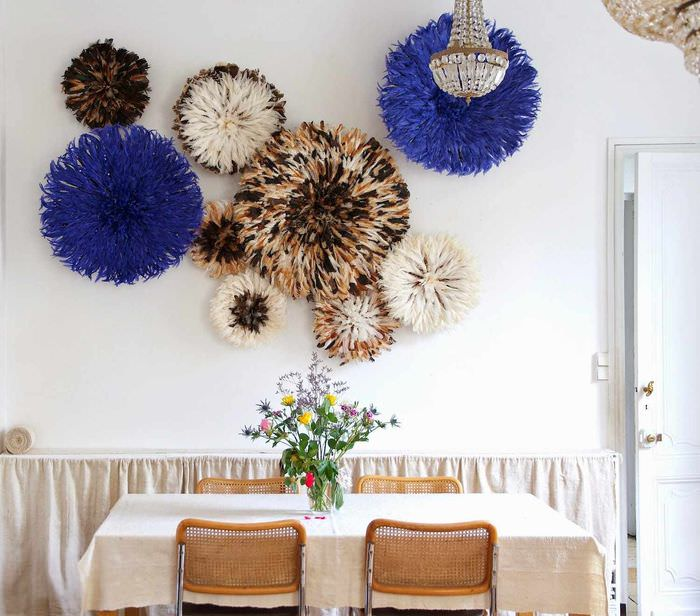 пример красивой поделки для стиля квартиры