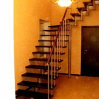 идея красивого стиля лестницы фото
