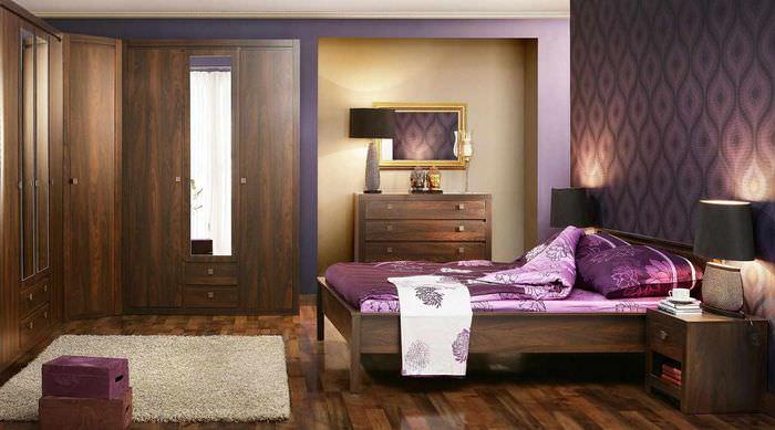 пример красивого интерьера спальни