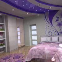 пример светлого интерьера детской комнаты для девочки картинка
