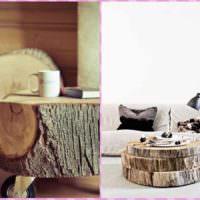 вариант светлой поделки для декора квартиры фото