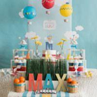Декорирование сладкого стола на день рождения ребенка
