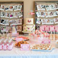 Праздничная сервировка детского стола на день рождения